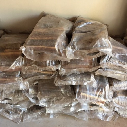 FIREWOOD IN PLASTIC BAGS